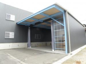 桜井市吉備倉庫改修工事