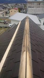 橿原市屋根修理工事写真