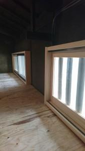 日本建築の換気窓