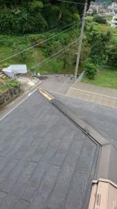 高取町屋根補修工事