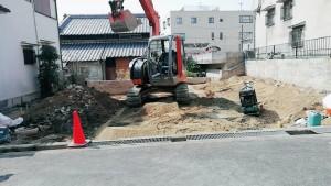 京都府八幡市一戸建て解体