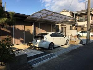 奈良県橿原市西池尻町駐車場増設工事