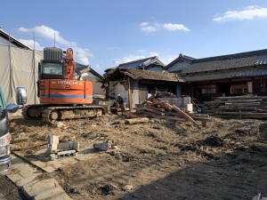 奈良県橿原市城殿町建物解体工事