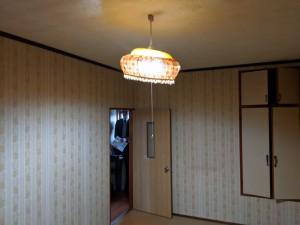 奈良県橿原市白橿町8丁目一戸建てリフォーム前洋室