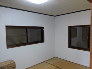 奈良県橿原市白橿町8丁目一戸建てリフォーム後洋室