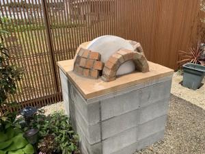 奈良県橿原市ピザ窯制作
