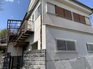 茨木市安威2丁目住宅建物解体工事